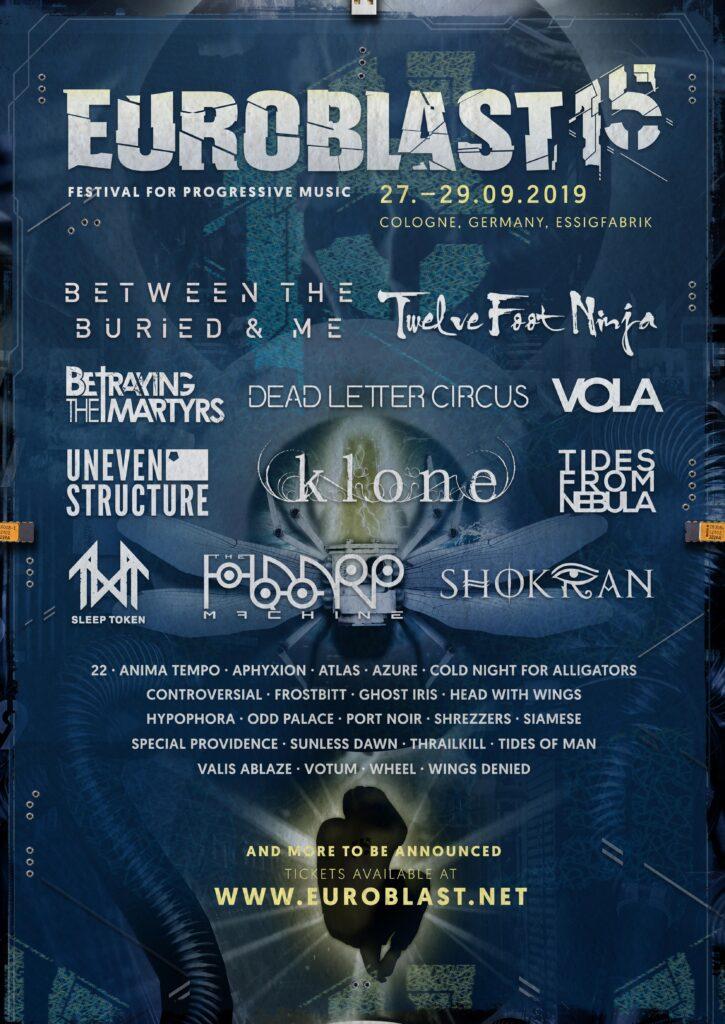 Euroblast 15, 2019