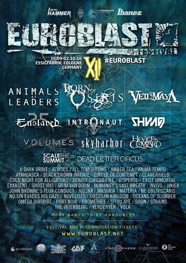 Euroblast 12, 2016