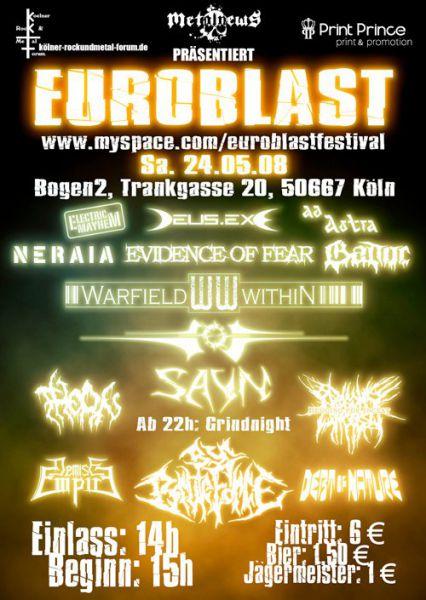 Euroblast 1, 2008